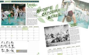 Aperçu du contenu du calendrier Capoeira 2021 GCB Strasbourg